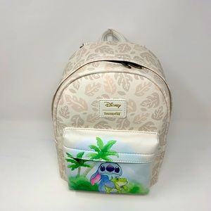 Disneyxloungefly tropical stitch themed backpack